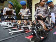Senjata Api Hilang, Sejumlah Lapas Di Tangerang Dijaga Ketat