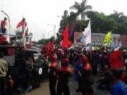 Mogok Nasional, Seribu Buruh Duduki di Kantor DPRD Kota Tangerang