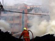 Kantin Universitas Pamulang Terbakar