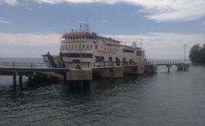 Ignasius Jonan Resmikan Pelabuhan Pelayaran Toboli Sulawesi Tengah