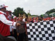 Gubernur Banten Rano Karno Lepas 80 Bus Mudik Gratis