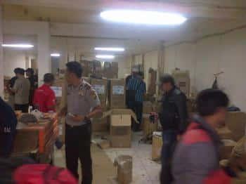 Balai Pom di Serang Temukan Sarana Produksi Obat Tradisional Ilegal Di Wilayah Tangerang