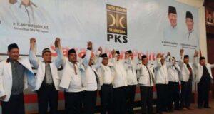 Deklarasi PKS Perkuat Pasangan WH-Andika Jadi Gubernur dan Wakil Gubernur Banten