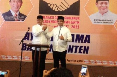 Deklarasi Partai Hanura Usung WH-Andika Sebagai Pemenang