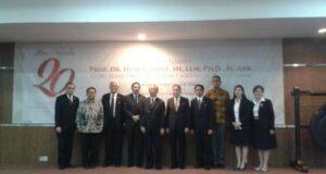 Gelar Dies Natalis ke-20, Fakultas Hukum UPH Didik Ahli Hukum yang Bermoral
