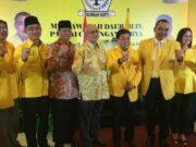 Setya Novanto Kuatkan Barisan Raih Kemenangan WH-Andika