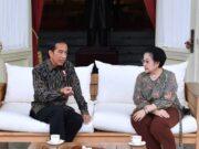 Pertemuan Presiden Jokowi dengan Megawati Soekarnoputri di Istana Negara