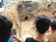 Lorong Bawah Tanah Diduga Peninggalan Zaman Belanda Ditemukan di Serang Banten