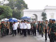Presiden Joko Widodo Apresiasi Aksi Doa Bersama Berjalan Damai