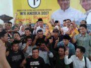 Tim Relawan WH-Andika Gotong Royong Menangkan Nomor Urut Satu