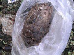 Granat Nanas Ditemukan Warga Larangan Saat Bersihkan Selokan