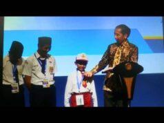 Ari Aditya Salah Sebut Ikan Tongkol di Depan Presiden Jokowi