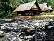 Kebakaran Hanguskan Tiga Rumah Warga Baduy, BPBD Lebak Salurkan Bantuan