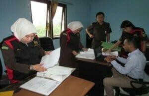 Kantor BPBD Kota Tangerang Digeledah Penyidik Kejaksaan