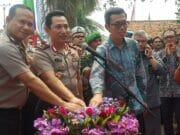 Kapolda Banten Resmikan Gedung Satpas SIM di Rajeg Tangerang