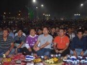 Euforia Nobar Final Champions Warga Kota Tangerang Bersama Walikota Meriah