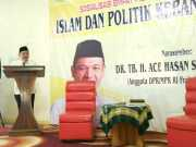 Ace Hasan Sadzily: Pelihara Nilai-Nilai Kebangsaan Melalui Literasi