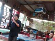 Tausiyah Budaya Yudi Baduy di Acara Halal Bihalal Pegiat Literasi Banten