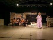 "Berharap Ada Gedung Pertunjukan Memadai di Rangkasbitung, Teater Empat Pentaskan Lakon ""Lorong"""
