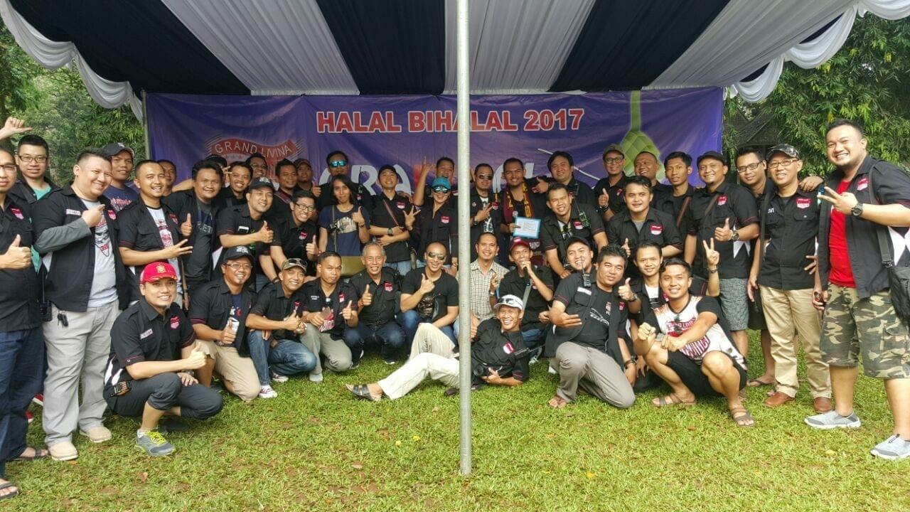 GRAND LIVINA CLUB INDONESIA, Mempererat Tali Kekeluaragaan dengan Halal Bihalal