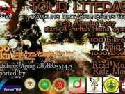 Komunitas Motor Literasi Bagikan 1000 Buku di Kampung Adat Cisungsang