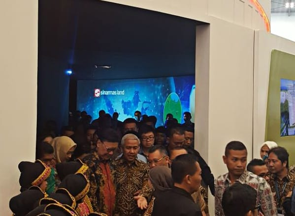 Sinar Mas Land Perkenalkan Digital Hub di Pameran Indonesia Future City dan REI Expo 2017