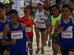 Hari Ke-2 Festival Pesona Tanjung Lesung, Kadis Pariwisata Banten Lepas Peserta Sunset Trail Run