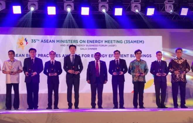 Sinar Mas Land Raih Penghargaan ASEAN Energy Awards 2017
