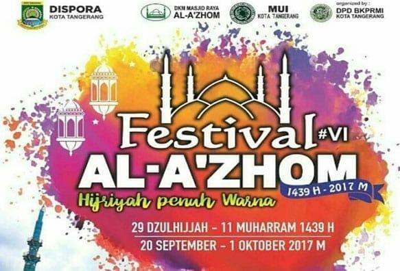 Sambut Tahun Baru Hijriah, Pemkot Tangerang Gelar Festival Al-Azhom