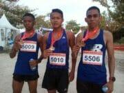 Saiful Rahman Raih Finish Pertama di Ajang Sunset Trail Run Tanjung Lesung