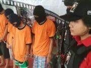 Polwan Cantik Berhasil Ciduk Bandit Jalanan di Tangerang