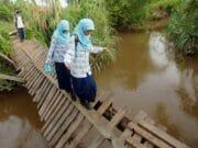 Perbaikan Seluruh Jembatan Gantung di Lebak Terkendala Anggaran