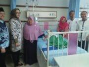 Jenguk Penderita Hydrocephalus, Anggota DPRD Kota Tangerang Kecewa Kinerja Camat