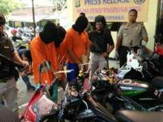 Komplotan Curanmor 18 Kali Beraksi di Wilayah Tangerang Ditembak Tim Buser