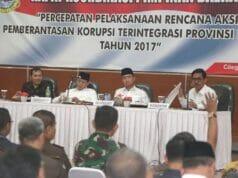 Seluruh Kepala Daerah di Banten Sepakat Lawan Korupsi