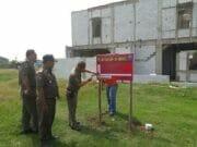 467 Unit Rumah Mewah Disegel Satpol PP Kota Tangerang