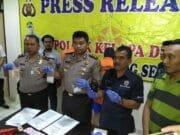 Polres Tangerang Selatan Ciduk Pengedar Sabu Siap Edar