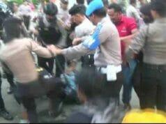 LBH Rakyat Banten Mengecam Represifitas Aparat Kepolisian Terhadap Masa Aaksi