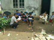 Polisi Polsek Pasar Kemis Tangerang Ajak Masyarakat Minati Baca Buku