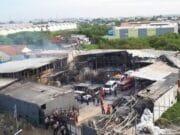 Pabrik Petasan Terbakar Menewaskan Puluhan Pekerja
