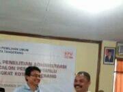 DPC PAN Perbaiki Syarat Administrasi Partai di KPU Kota Tangerang