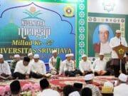 Universitas Sriwijaya Palembang Gelar Dies Natalis ke-57 dengan Khataman Al-Quran