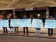 HUT ke-9, Demonstran Nilai Airin Gagal Pimpin Kota Tangerang Selatan