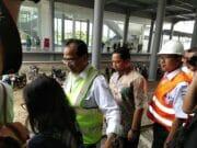 Arief R Wismansyah Minta Menteri Perhubungan Bangun Jembatan Stasiun Batu Ceper