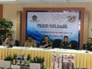 Ribuan Miras Disita Bea Cukai Banten dalam Operasi Patuh Ampadan