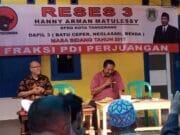 Anggota DPRD PDI-P Adakan Reses Warga Diminta Aspirasikan Keinginannya