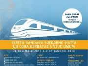 Hari Ini Kereta Menuju Bandara Soekarno-Hatta Beroperasi
