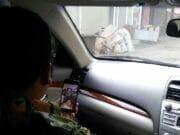 Di dalam Mobil, Wali Kota Tangerang Pimpin Briefing Pagi dengan Skype