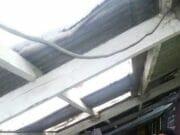 Siswa Menjerit Gedung SMKN 3 Kota Tangerang Ambrol