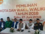 Pilkada Serentak di Banten, Hanya KPU Kota Serang Menerima Empat Pasangan Calon Kepala Daerah